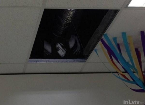 Кошмар на стелі